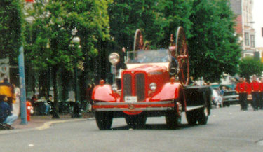 1938 Bickle Seagrave Aerial Tractor
